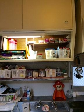 キッチン吊り収納:H様宅