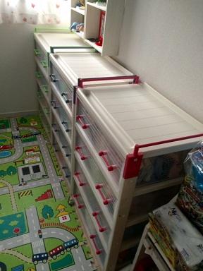 子供服を整理(収納ケース)