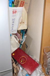 冷蔵庫脇 作業後